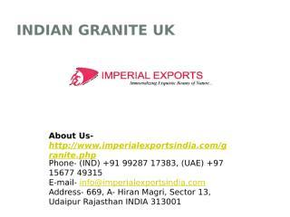 Indian Granite UK.pptx