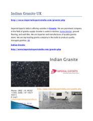 Indian Granite UK.docx