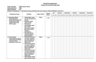 Program Semster kelas 2.doc
