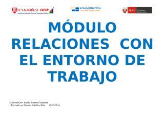 Relaciones con el entorno de trabajo 2014 trujillo II[1].doc