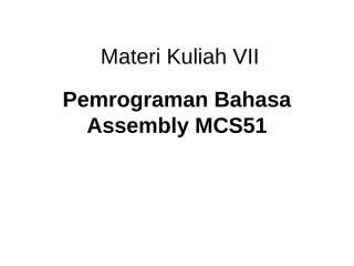 Materi Kuliah 7.ppt