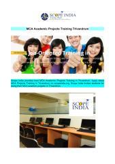 MCA Academic Projects Training Trivandrum.pdf