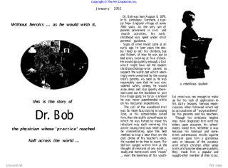 The story of Dr. bob.PDF