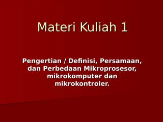 Materi Kuliah 1.ppt