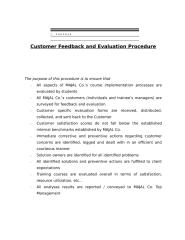 Customer Feedback and Evaluation Procedure.doc