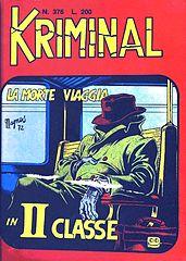 Kriminal.376.La.morte.viaggia.in.II.classe.(By.Roy.&.Aquila).cbz