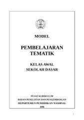 Pembelajaran Model Tematik.doc