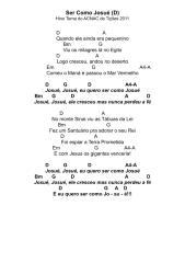 Hino Tema 2011 – Ser Como Josué - Cifras.pdf