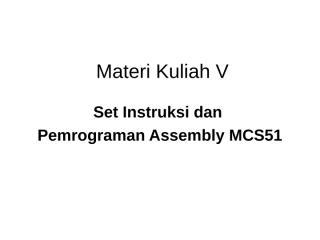 Materi Kuliah 5.ppt