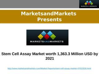 Stem Cell Assay Market.pptx
